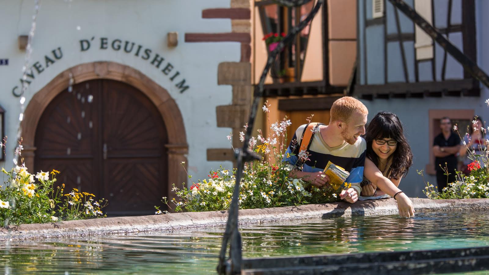 Caveau d'Eguisheim - Fontaine