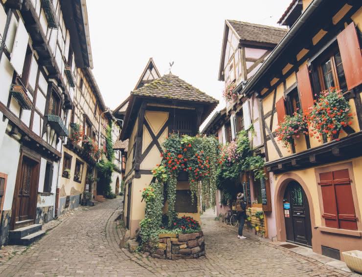 Eguisheim - Village typique