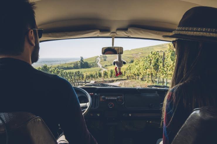 Balade en van - Route des Vins d'Alsace