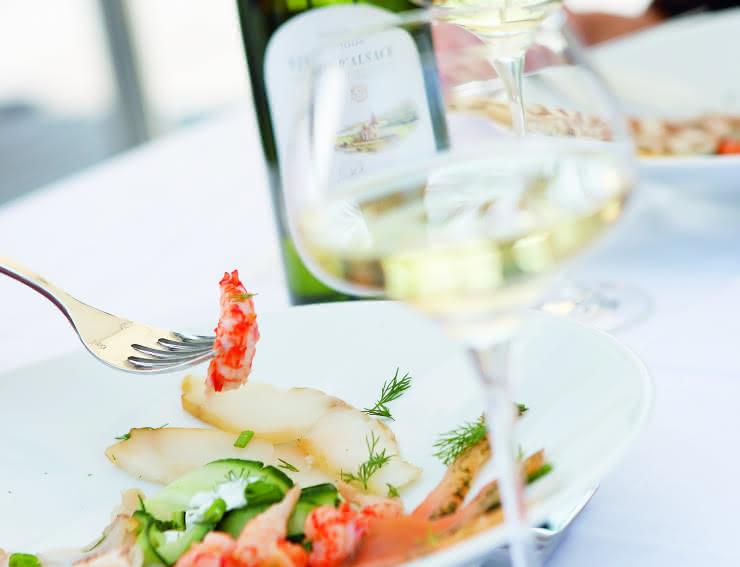 Accord met-vin Alsace