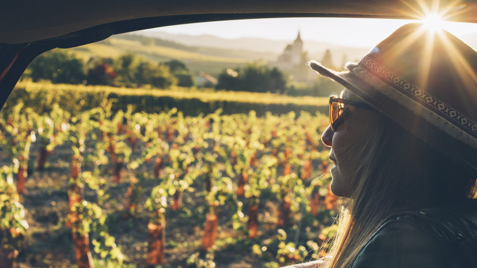 Sur la Route des Vins d'Alsace