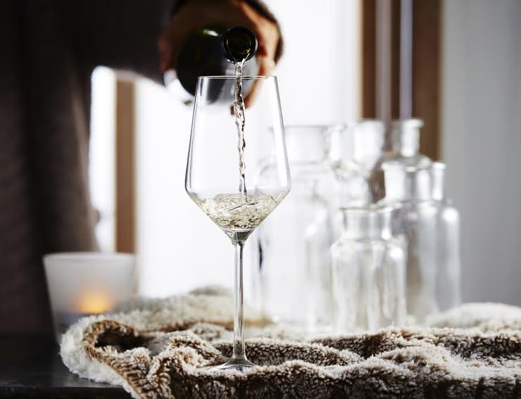 Verre de vin d'Alsace