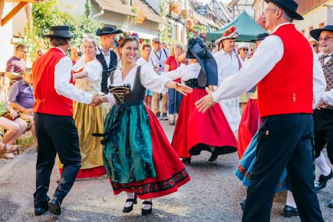 Fête folklorique Alsace