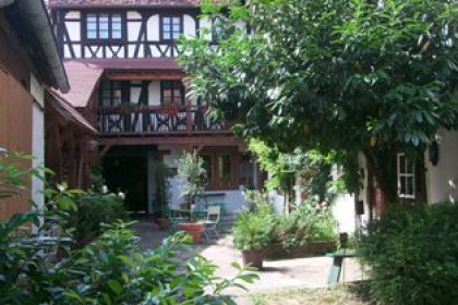 Cour intérieure privative Maison Dietenbeck